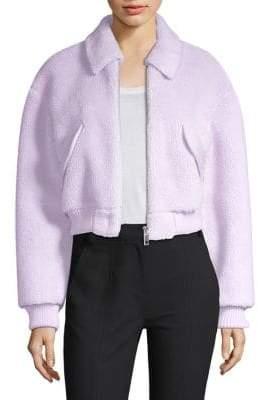 Tibi Faux Shearling Jacket