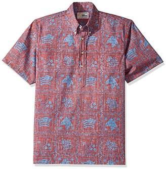 Reyn Spooner Men's Lahaina Sailor Kloth Classic Pullover Hawaiian Shirt