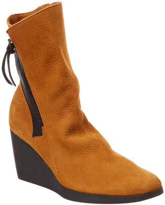 Arche Vitahe Leather Wedge Boot