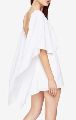BCBGMAXAZRIA Jamey Cape Dress
