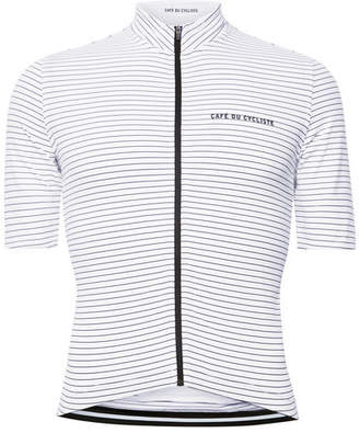 Cafe du Cycliste Striped Cycling Jersey