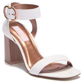 Ted Baker Vallama Block Heel Leather Sandal