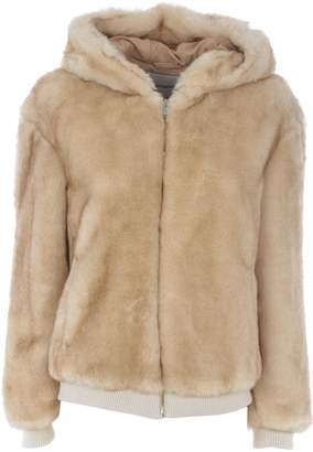 Dondup Fur Coated Hoodie