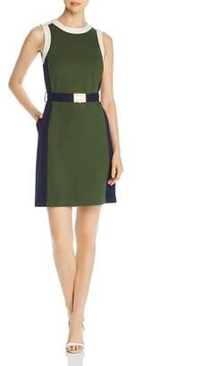 Tory Burch Color-Block Ponte Dress