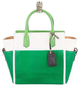 Reed Krakoff Mini Snakeskin & Lizard-Trimmed Atlantique Bag