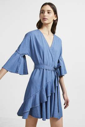 French Connection Ali Chambray Wrap Dress