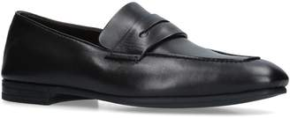 Ermenegildo Zegna Leather Asola Penny Loafers