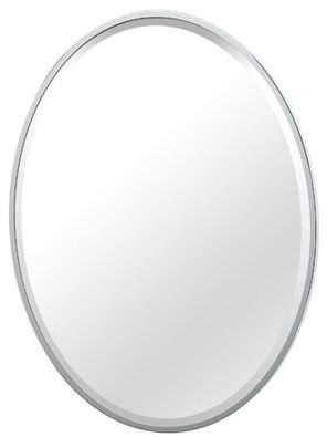 Gatco Flush Mount Framed Bathroom/Vanity Mirror