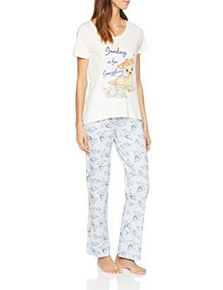 Dorothy Perkins Women's Bambi and Thumper Pj Set Pyjama,Small (Size:s)