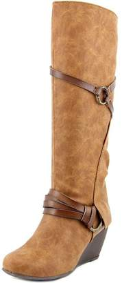 Blowfish Women's Board Synthetic Knee-High Leather Boot - 8.5M