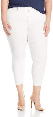 Melissa McCarthy Women's Plus Size Pencil Cut Colored Jean