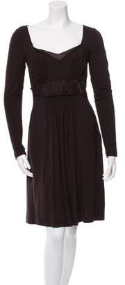 Philosophy di Alberta Ferretti Pleated Flare Dress