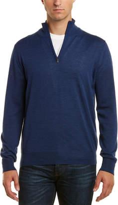 Canali Mock Wool Sweater