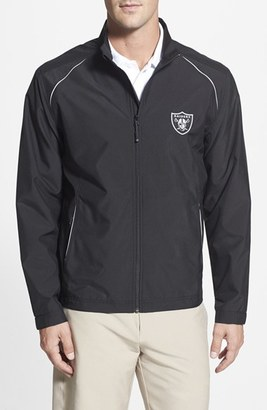 Men's Big & Tall Cutter & Buck 'Oakland Raiders - Beacon' Weathertec Wind & Water Resistant Jacket $145 thestylecure.com