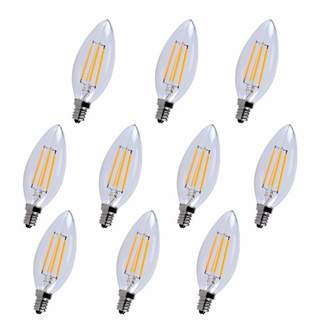 Elegant Lighting 40W E12/Candelabra LED Vintage Filament Light Bulb Bulb Temperature: 5000K