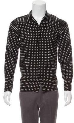 Saint Laurent 2016 Polka Dot Shirt