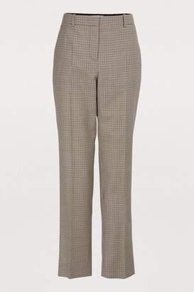 Givenchy Micro-check pants