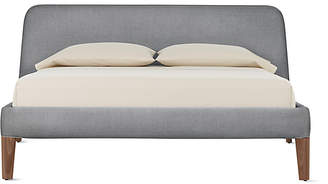 Design Within Reach Parallel Bed, Grey Fabric, California King