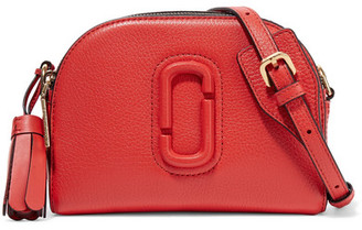 Marc Jacobs Shutter Textured-leather Shoulder Bag
