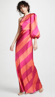 Saloni Lily Stripe Dress