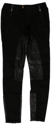 Burberry Low-Rise Skinny Jeans