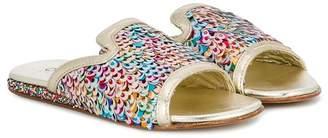 Quis Quis sequin embellished sandals