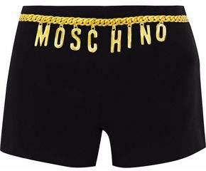 Moschino Printed Cady Shorts