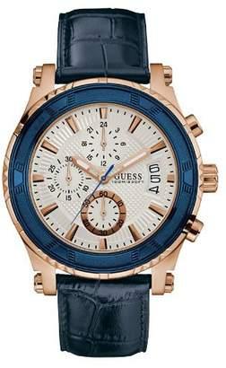 W0673g6 gents leather strap dress watch
