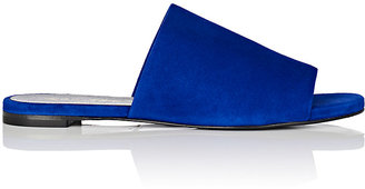 Robert Clergerie Women's Gigy Suede Slide Sandals $395 thestylecure.com