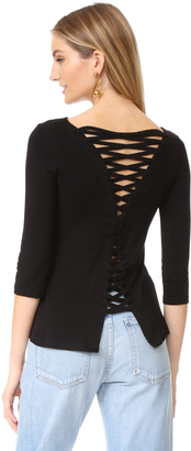 Bailey44 Cuba Libre Top $158 thestylecure.com
