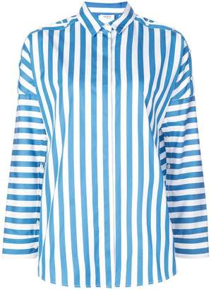 Akris Punto button detailed striped blouse