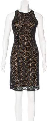 Vince Lace Knee-Length Dress