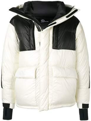 Moncler padded hooded coat