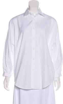 Ralph Lauren Black Label Long Sleeve Button Up Top
