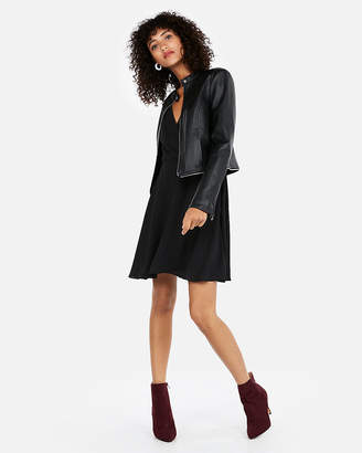 Express Removable Zip Hem (Minus The) Leather Jacket