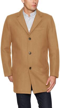 Tommy Hilfiger Men's Wool Tailored Top Coat