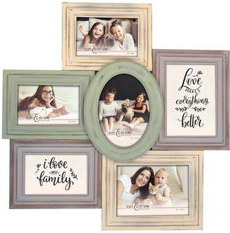 New View 6-Opening Multi-Shape Collage Frame