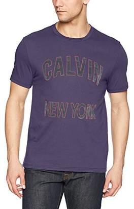 Calvin Klein Jeans Men's Short Sleeve T-Shirt New York Logo