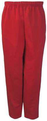 Benefit Cosmetics Wear Womens Adaptive Side Zipper Fleece Pants (XL, )