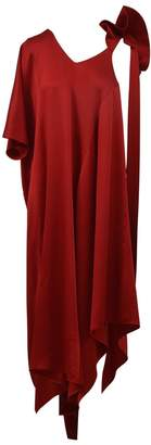 Valentino Long Draped Dress