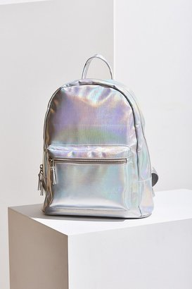 Urban Outfitters Iridescent Backpack $54 thestylecure.com