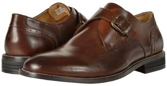 Nunn Bush Sabre Plain Toe Dress Casual Monk Strap Men's Plain Toe Shoes