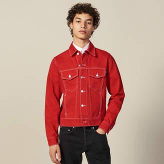 Sandro Denim Canvas Jacket