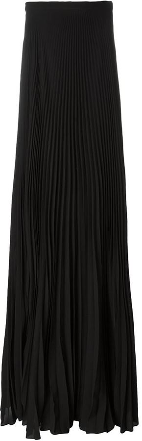 Ralph Lauren pleated maxi skirt