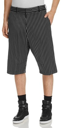 rag & bone Smith Stripe Relaxed Fit Shorts $350 thestylecure.com