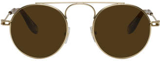 Givenchy Gold GV 7054 Sunglasses