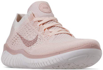 Nike Women Free Run Flyknit 2018 Running Sneakers from Finish Line