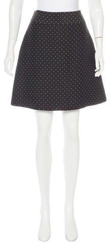 Kate Spade New York Polka Dot Knee-Length Skirt