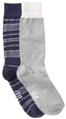 Frye Everyday Stripe Crew Socks - Pack of 2