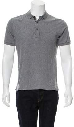 Burberry Woven Polo Shirt